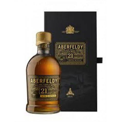 Aberfeldy 21 Year Old Single Malt Scotch Whisky