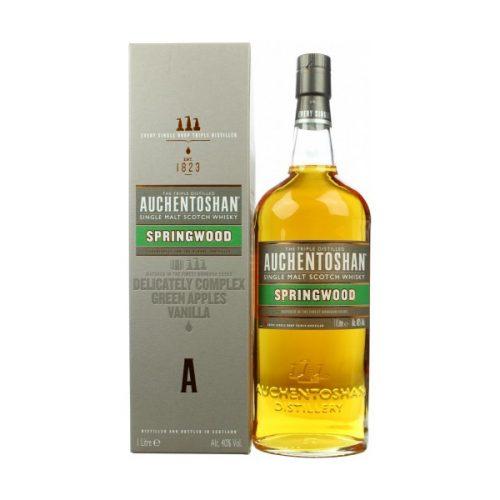 Auchentoshan Springwood Single Malt Scotch Whisky