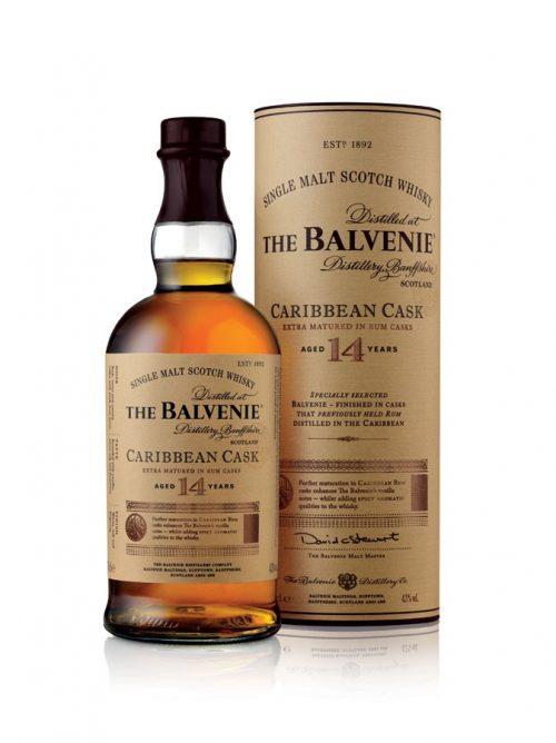 Balvenie 14 Year Old Carribean Rum Scotch Whisky