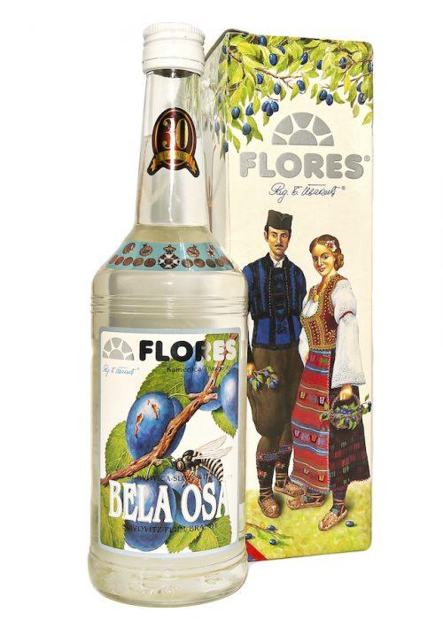 Flores Bela Osa Slovitz Plum Brandy