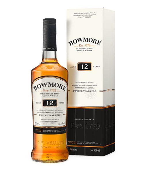 Bowmore 12 Year Old Single Malt Scotch Whisky