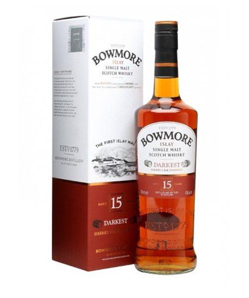 Bowmore 15 Year Darkest Sherry Cask Single Malt Scotch Whisky