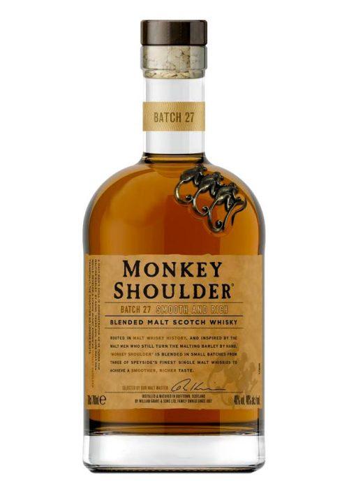 Monkey Shoulder Batch 27 Blended Malt Scotch Whisky 700mL