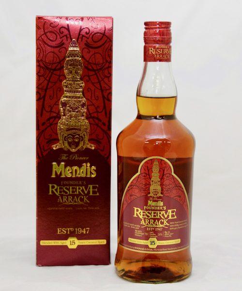 Mendis 15 Years Founders Reserve Sri Lankan Coconut Arrack
