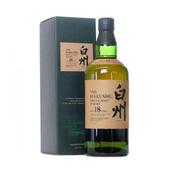 Suntory Hakushu 18 Year Old Single Malt Japanese Whisky