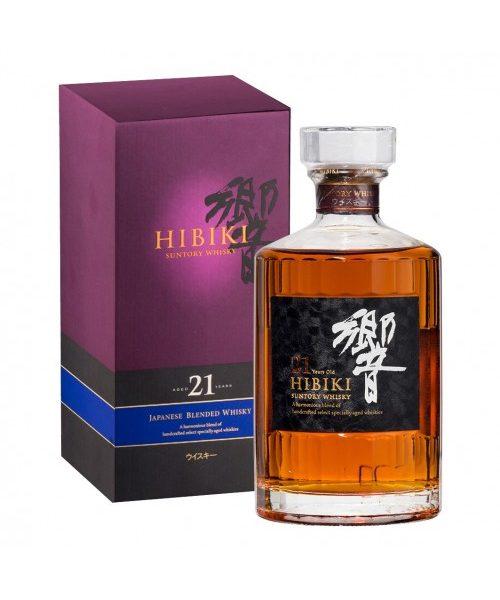 Suntory Hibiki 21 Year Old Japanese Blended Whisky