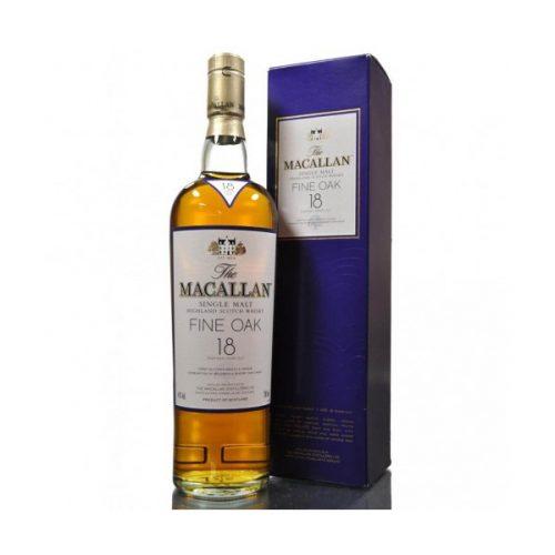 Macallan 18 Year Old Fine Oak Single Malt Scotch Whisky