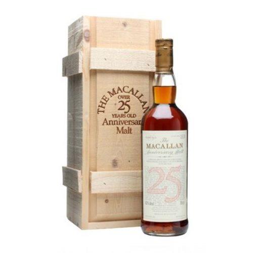 Macallan 25 Year Old Anniversary Single Malt Edition Whisky