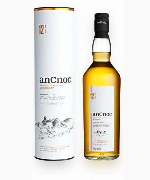 anCnoc 12 Year Old Single Malt Scotch Whisky