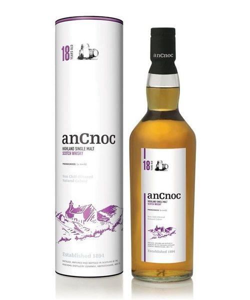 anCnoc 18 Year Old Single Malt Scotch Whisky