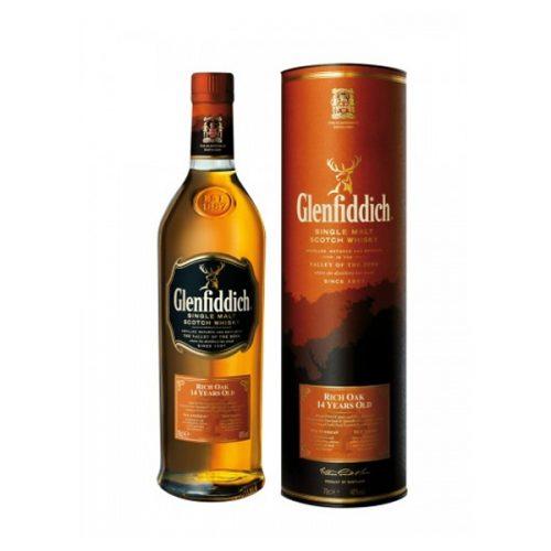 Glenfiddich 14 Year Old Rich Oak Single Malt Scotch Whisky