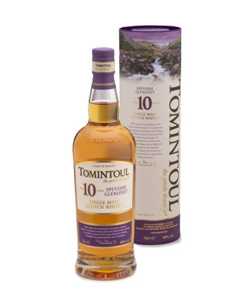 Tomintoul 10 Year Old Oloroso Sherry Cask Finish Single Malt Scotch Whisky
