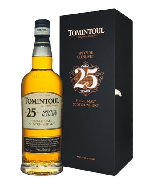 Tomintoul 25 Year Old Single Malt Scotch Whisky
