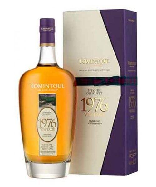 Tomintoul 1976 Vintage Single Malt Scotch Whisky