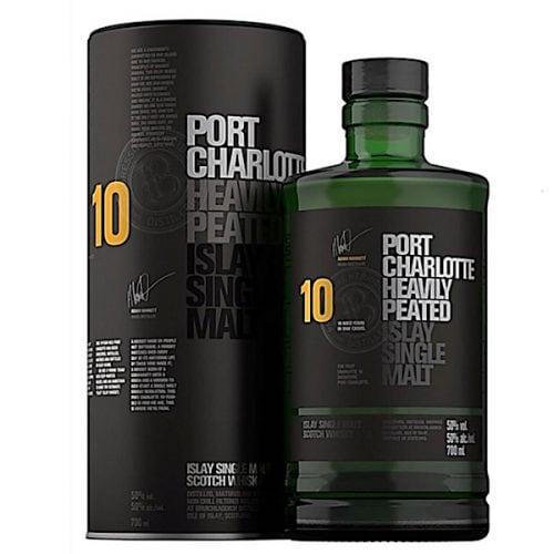 Port Charlotte Heavily Peated Islay Single Malt Scotch Whisky
