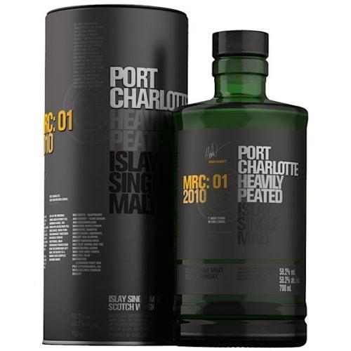 Port Charlotte Heavily Peated Single Malt Scotch Whisky