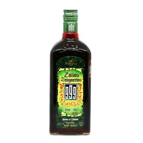 Zalios Devynerios 999 Green Nines