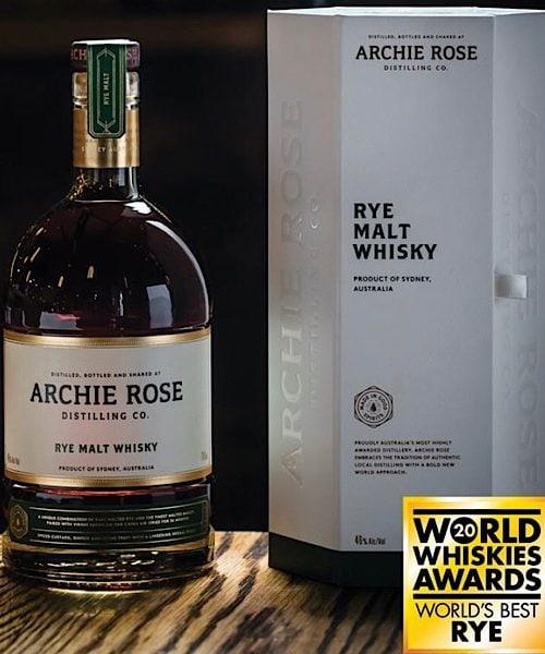 Archie Rose Rye Malt Australian Whisky