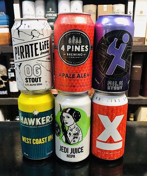 Mixed Aussie Brewers