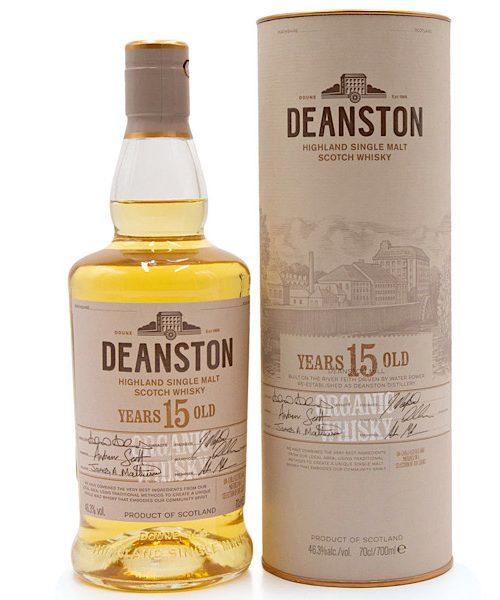 Deanston Organic Scotch Whiskey 15