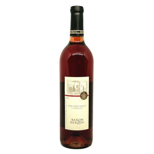 Baron Herzog Pink Pinot Grigio Clarksburg