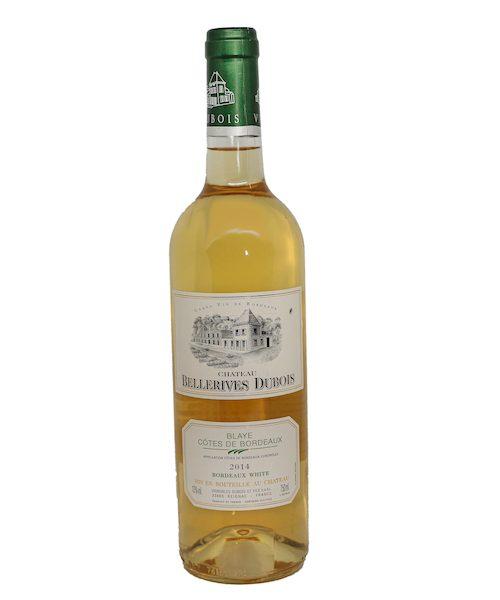 Bellerives Dubois Blaye Cotes De Bordeaux White Wine