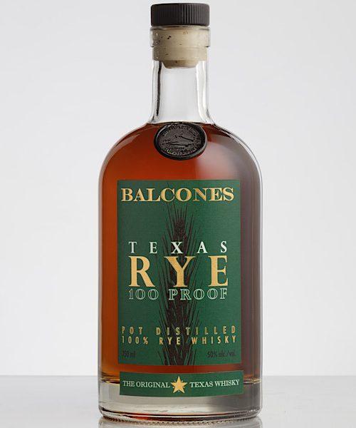 Balcones Texas 100 Proof Rye Whisky