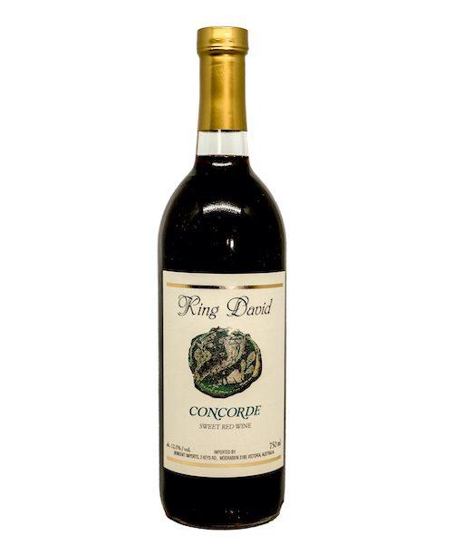 King David Concorde Sweet Red Wine