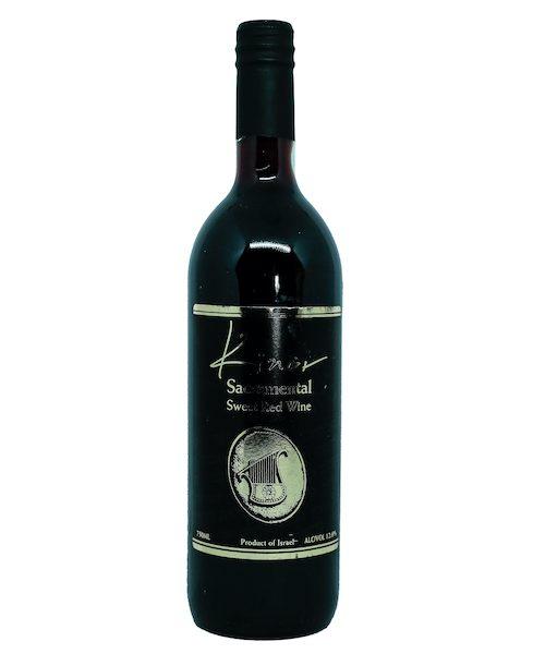 Kinor Sacramental Sweet Red Wine