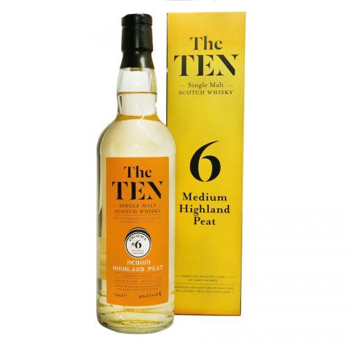 The Ten 6 Medium Highland Peat