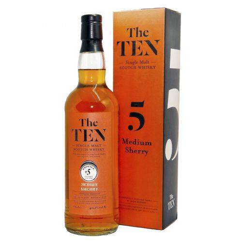 The Ten 5 Medium Sherry Whisky