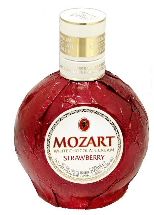 Morzart Strawberry White Chocolate Liqueur