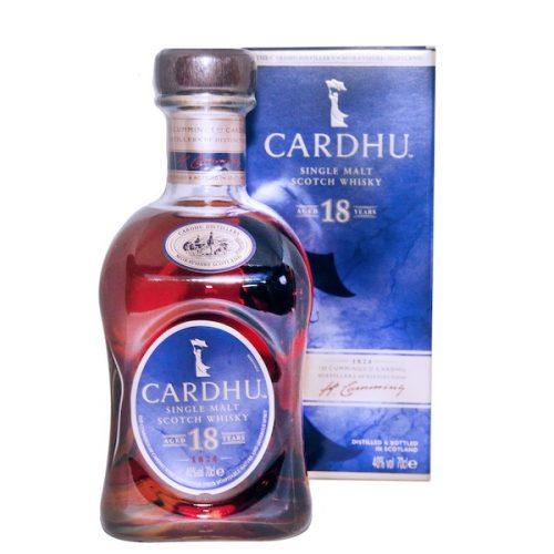 Cardhu Single Malt 18 Year Scotch Whisky