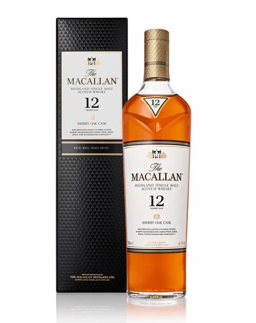 The Macallan Sherry Oak 12