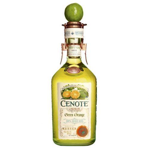 Cenote Green Orange Liqueur Mexico