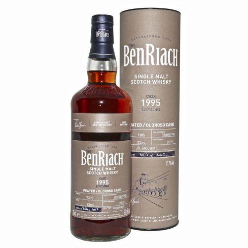 BenRiach Single Malt Peated Oloroso Cask Whisky scotland