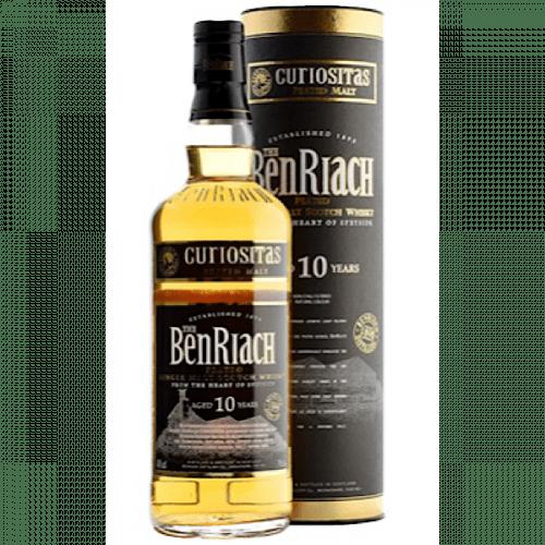 BenRiach Curiositas Peated Scotch Whisky