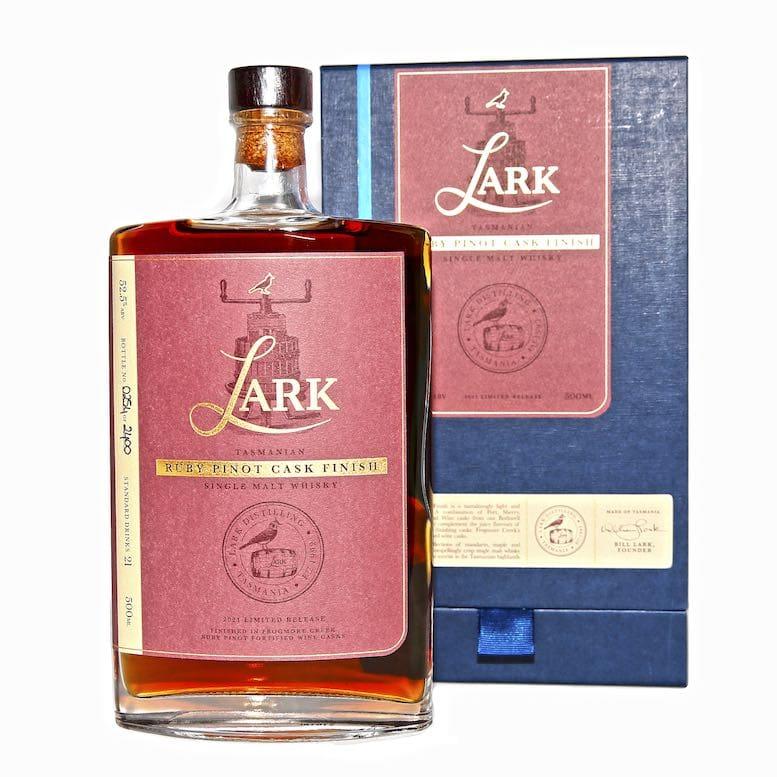 Lark Ruby Pinot Cask Finish Single Malt Whisky
