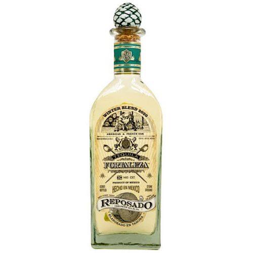Tequila Fortaleza Reposado Winter Blend