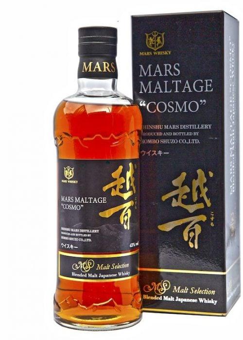 Mars Maltage Cosmo Blended Malt Japanese Whisky 700mL