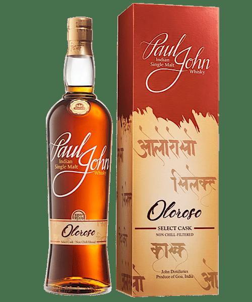 Paul John Nirvana Single Malt Indian Whisky 700mL