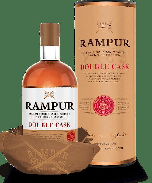 Rampur Double Cask Indian Single Malt Whisky 700mL